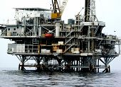 Plataforma de petróleo offshore