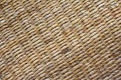 Diagonal wicker weave