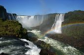 Waterfall at the Iguazu Falls