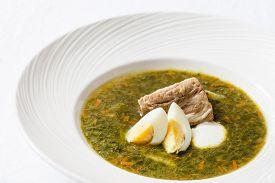 image of sorrel  - sorrel soup - JPG