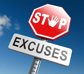 pic of take responsibility  - stop excuses tell the truth - JPG
