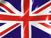 Die Great Britain. Nationalflagge