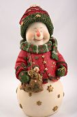 Christmas Smiling Snowman