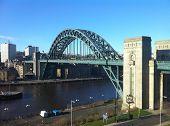 foto of tyne  - Picture of the Tyne Bridge from Gateshead - JPG