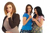 Neidischen Frauen Gossip
