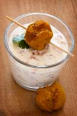 Falafel and Yogurt