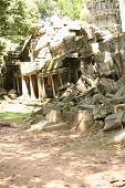 Angkor Wat Temple Destruction
