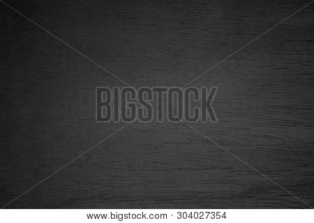 poster of Black Wooden Wall Texture Background.