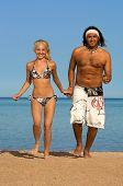 Beach Coupl