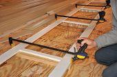 Carpenter's Hand Klemme für außen trimmen Assembly anpassen