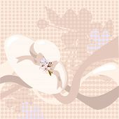 Spring Bonnet Background.Eps