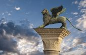 St Mark's Lion, Venice