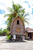 Traditional Lombok's  house, Indonesia