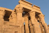Temple Of Kom Ombo In Sunset Light (kom Ombo, Egypt )