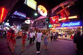 PATTAYA, THAILAND - FEBRUARY 20: Walking Street after Valentin's Day on February 20, 2012 in Pattaya