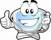 Computer Mascot #2