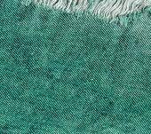 Old Denim Japan Jean Texture. Denim Jeans Destroyed Background poster