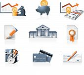 Bank And Finances  Icons
