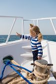 Beach Is Calling And We Must Go. Baby Boy Enjoy Vacation Sea Cruise Ship. Child Sailor. Boy Sailor T poster