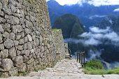 Sunrise in Macchu Picchu