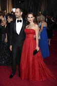 LOS ANGELES - FEB 26:  Natalie Portman arrives at the 84th Academy Awards at the Hollywood & Highlan