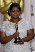 LOS ANGELES - FEB 26:  Octavia Spencer arrives at the 84th Academy Awards at the Hollywood & Highlan