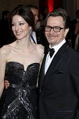 LOS ANGELES - FEB 26:  Gary Oldman arrives at the 84th Academy Awards at the Hollywood & Highland Ce