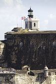 Fort San Felipe Del Morro In Puerto Rico