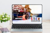Stem Education For Online Learning, Electronic Board For Be Program By Robotics Electronics At Labor poster
