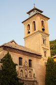 Church Of Santa Ana, Granada Close Up