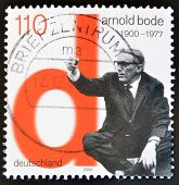 GERMANY- CIRCA 2000: stamp printed in Germany shows Arnold Bode Artist circa 2000.