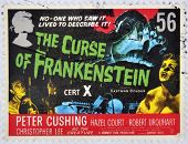 UNITED KINGDOM - CIRCA 2008: A stamp printed in Great Britain shows the curse of Frankenstein
