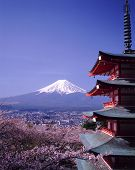 Japan Hakone Mt Fuji