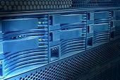 Server Panel Close-up