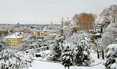rome after snowfall