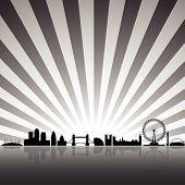 London Grey Silhouette