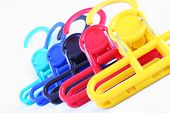 Colorful Laundry Hangers