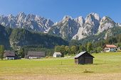 Gosau and Dachstein Mountains,Austria