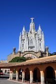Tibidabo Temple (Barcelona, Spain)
