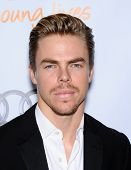 LOS ANGELES - DEC 02:  Derek Hough arrives to Trevor Project Honors Katy Perry  on December 02, 2012 in Hollywood, CA