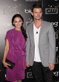LOS ANGELES - AUG 10:  RACHAEL LEIGH COOK & DANIEL GILLIES arriving to CW Premiere Party  on August 10, 2011 in Burbank, CA