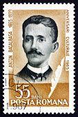 Postage stamp Romania 1965 Anton Bacalbasa, Writer