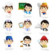 picture of chef cap  - Occupation Icons - JPG