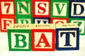 Toy Blocks - Spelling poster