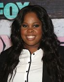 LOS ANGELES - JUL 23:  Amber Riley arriving to FOX All-Star Party 2012  on July 23, 2012 in West Hollywood, CA