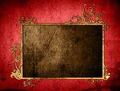 highly Detailed textured grunge background frame