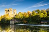 Durham Cathedral Above River Wear