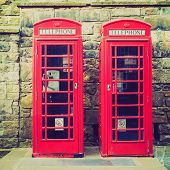 Vintage-Look London Telefonzelle