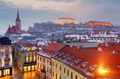 picture of eastern culture  - Bratislava panorama  - JPG
