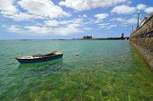 View of coast, Arrecife. Lanzarote, Canary Islan
